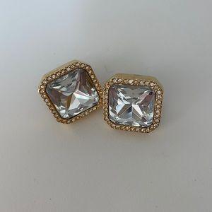 Kate Spade Large Diamond Stud Earrings